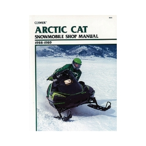 Clymer Manuel du Arctic Cat Snowmobile 88-89