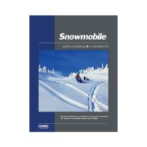 Clymer ProSeries Snowmobile Service Manual 62-86