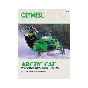 Clymer Manuel du Arctic Cat Snowmobile 90-98